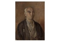 portrait of tomiyasu inosaburo by shigeru aoki