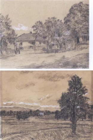 paesaggio by charles de ziegler