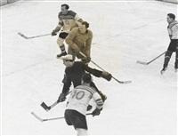 eishockeymeisterschaft tschechoslowakei-österreich by vaclav chochola