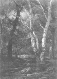 forest clearing by charles linford