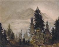 aufsteigender nebel by franz wacik