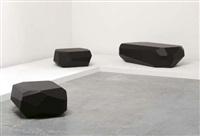 rock tables (irgr; set of 3) by arik levy