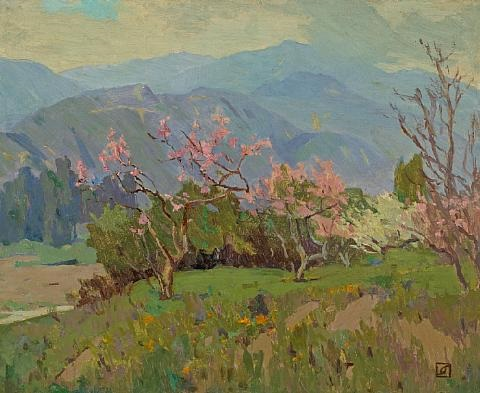spring comes to the valley by marion kavanaugh wachtel