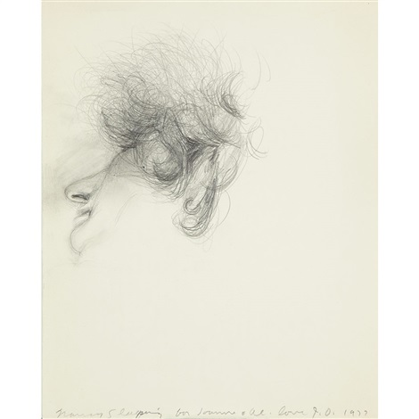 nancy sleeping by jim dine