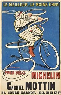 pneu vélo michelin by h. l. roowy