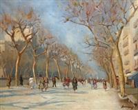 promenade sur les ramblas by ramon sanvisens