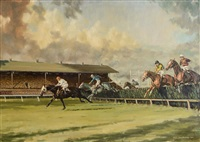 1948 grand national by neil cawthorne