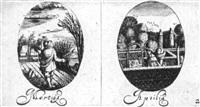 the twelve months by bartolomeus van lochom