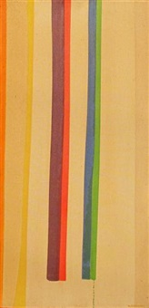 composition with vertical stripes by william perehudoff