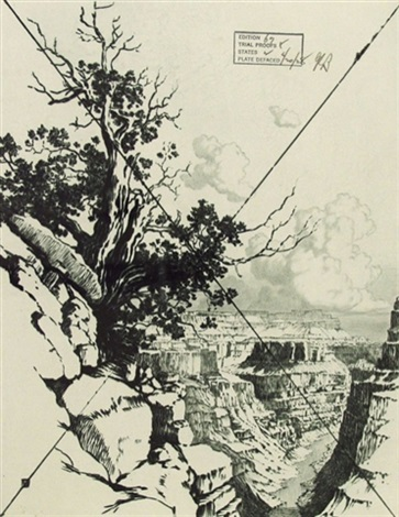 grand canyon pl.3 by george elbert burr