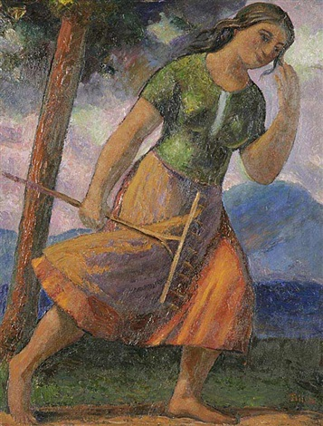going to work by alois bilek