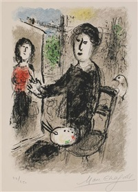 les ateliers de chagall (portfolio with text by robert marteau) by marc chagall