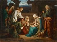anbetung der hirten by friedrich geselschap