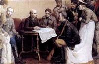 lénine et les partisans by mikhail semenov