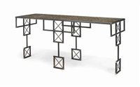samurai console table by gareth devonald smith