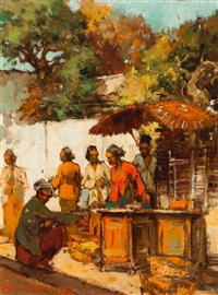 at the market by gerard adolfs