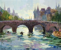 pont neuf by gaston de val