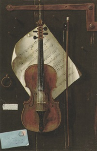 the violin by w.g. becker