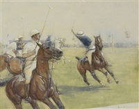 the polo match by george denholm armour