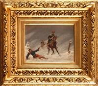 scena z wojen napoleońskich by christian sell