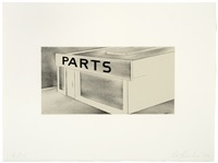 parts (archi-props series) by ed ruscha