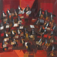 le grand orchestre by camille hilaire