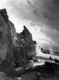 a rocky coastline by g. aschen