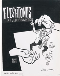 fleshtones live in paris 85 by serge clerc