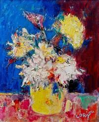 bouquet de fleurs by bernard lorjou