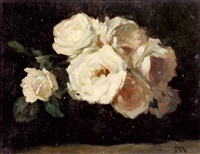 blumen in vase by rudolf heinrich kopecny