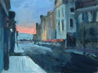 street towards the sea by paul bassingthwaighte