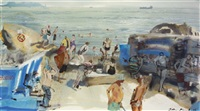 forty-foot, scene in summer by john short
