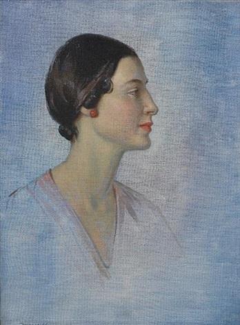 study of anna pavlova by garnet ruskin wolseley