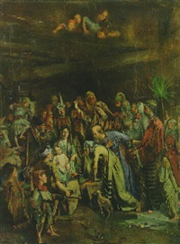 adoration of the magi by dietrich leonidas kooreman