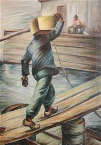 loading the boat by bernice lee burr singer