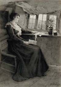 untitled - a letter from home by georgina m. de l' aubiniere