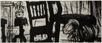 zeno ii - trial strip by william kentridge