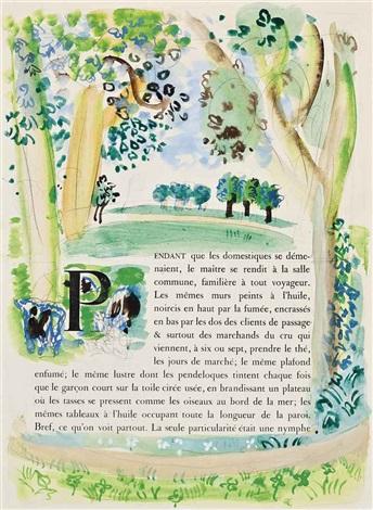 paysage de normandie by raoul dufy
