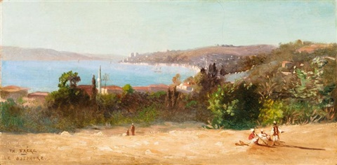 vue panoramique du bosphore by charles théodore frère bey frère