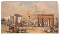 the forum, rome by thomas brabazon aylmer