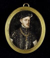 philip ii (1527-98), king of spain (1556-98), wearing bejewelled black doublet by margaret, lady bingham
