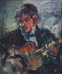 guitarist by shaul samira