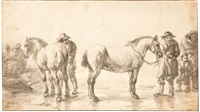 le marché aux chevaux by dirk stoop