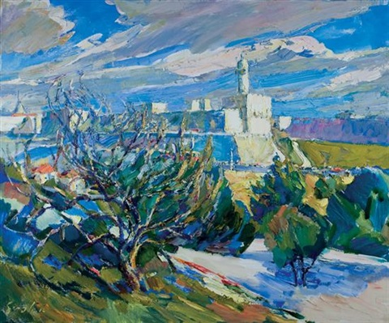 the citadel jerusalem by aaron april