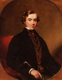 portrait of a gentleman by james godsell middleton
