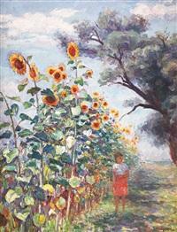sun flowers by samuel mützner