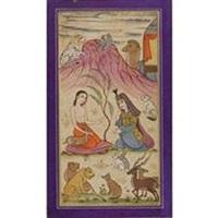 layla and majnun (+ a horseman hunting deer; 2 works) by muin musavvir