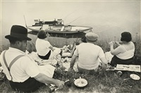 on the banks of the marne, france (juvisy) by henri cartier-bresson