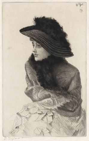 portrait de m n by james jacques joseph tissot