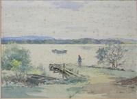 lake of menteith by robert eadie